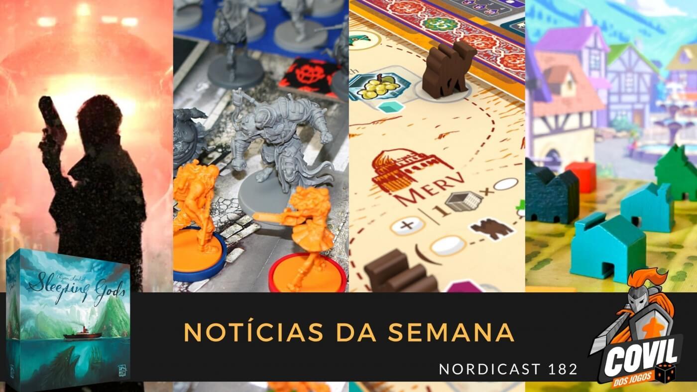 Nordicast 182 – Notícias da Semana