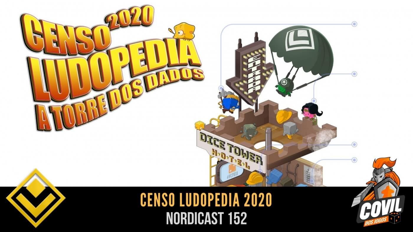 Nordicast 152 – Censo Ludopedia 2020